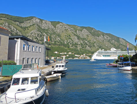 Kotor Cruise Ship Terminal