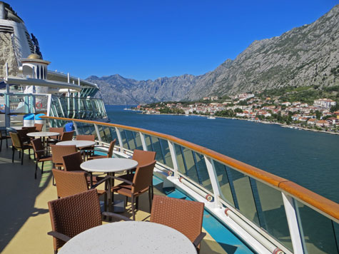 Scenery around Kotor Montenegro