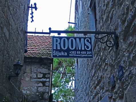 Hotels in the Old Town of Kotor