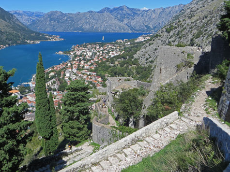 Small Fort, Kotor Montenegro