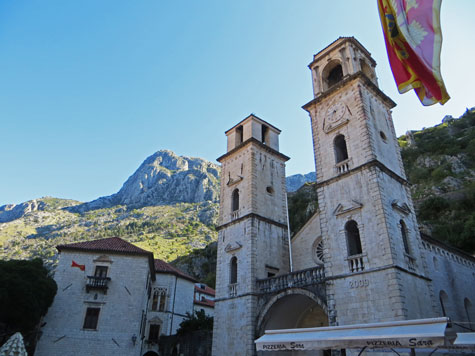 St. Triphon's Cathedral, Kotor Montenegro